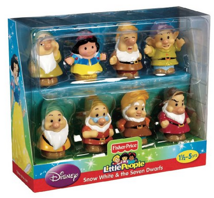 Little People Snow White and Dwarves