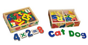 Melissa and Doug Letters and Numbers