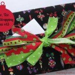 Merry Little Christmas: Too, Too Fun Wrapping Idea #13 with Tutorial