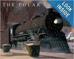 Polar Express hardcover book