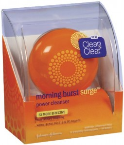 Clean & Clear Morning Burst Surge Energizing Power Cleanser Kit