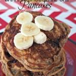 Whole Wheat Banana Chocolate Chip Pancakes Recipe