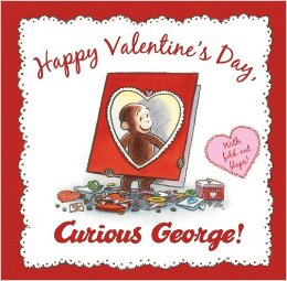 happy valentine day curious george