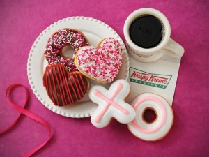 Krispy Kreme Valentine's Free Donuts
