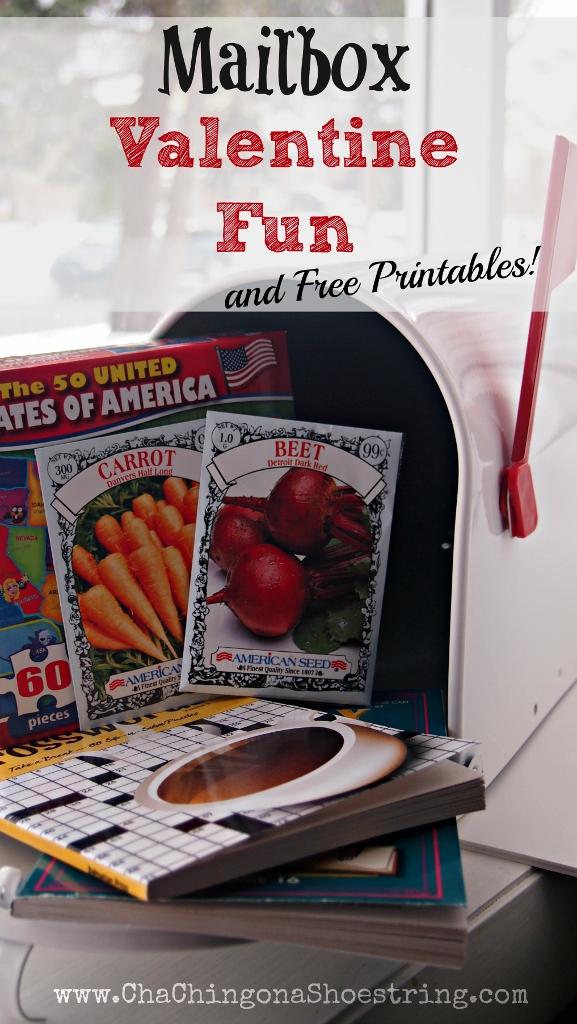 Mailbox Valentine Fun and Free Printables