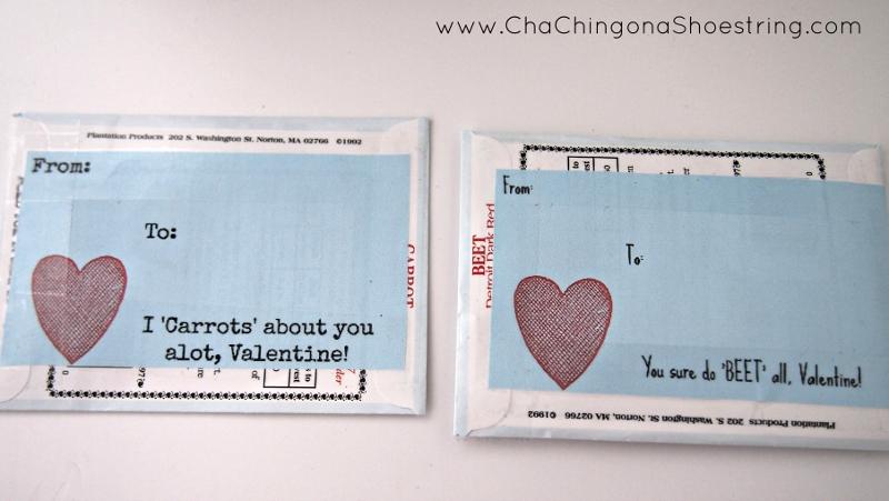 Seed Valentine Printables