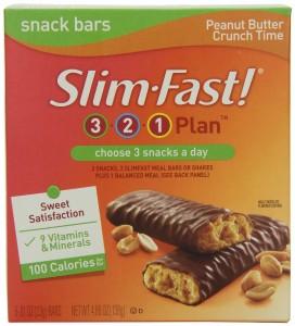 slim fast bars