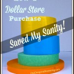 The Dollar Store Diva: How a Dollar Store Purchase Saved My Sanity