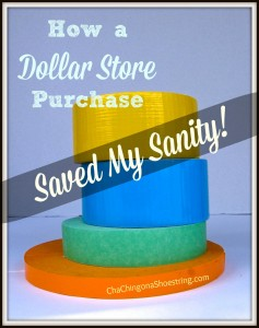 Dollar Store Tape