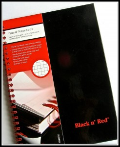 Pic Black Notebook