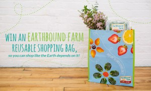 earthbound farm shopping bag