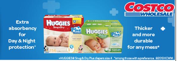 free huggies sample from costco