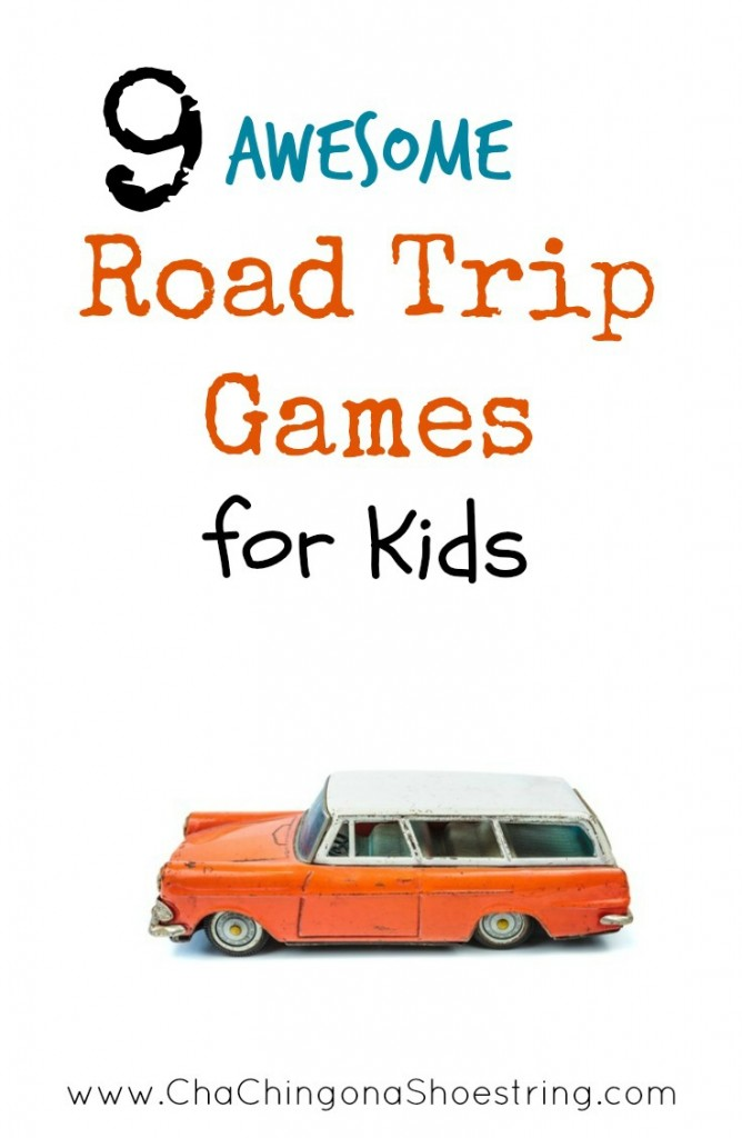 Don't miss this list of awesome Road Trip Games and Activities for kids before you go on your next road trip. These fun ideas will entertain your kids for hours - no technology involved!