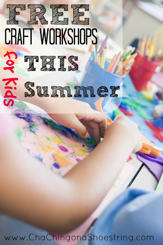 Free Kids Craft Classes This Summer 2019