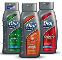 Target: Dial For Men Body Wash...
