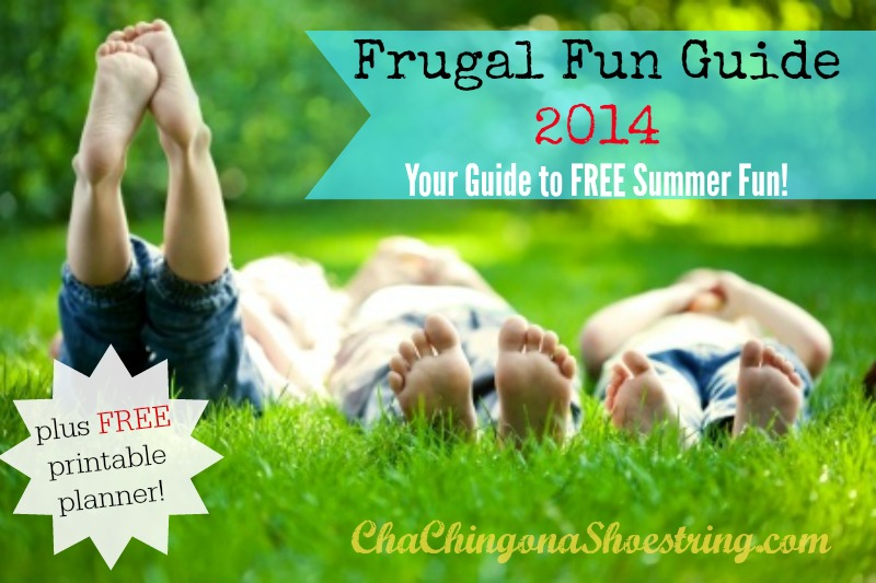 Project Summer Frugal Fun Guide 2014 - A HUGE list of FREE things to do with kids this summer plus a FREE printable planner!