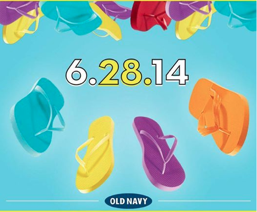 Old-Navy-$1-Flip-Flop-Sale