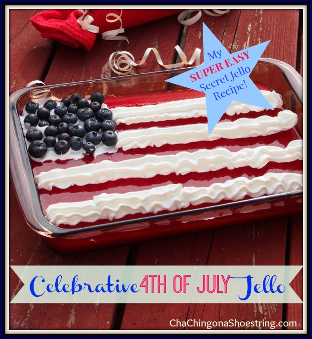 4th of July Jello Flag Recipe