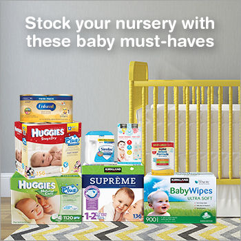 baby essentials sample pack