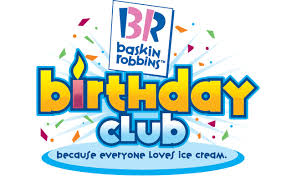 FREE Birthday Stuff: FREE Ice Cream From Baskin Robbins On Your Birthday!