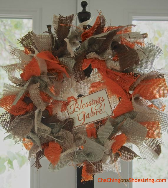 Blessings Galore Harvest Wreath