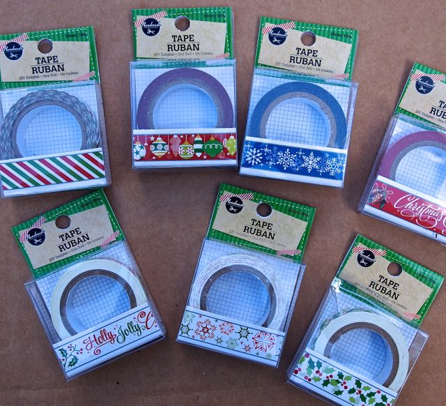 Dollar Tree Decorative Tape
