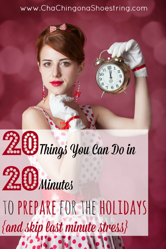 20 Things in 20 Minutes