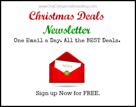 Christmas Deals Newsletter