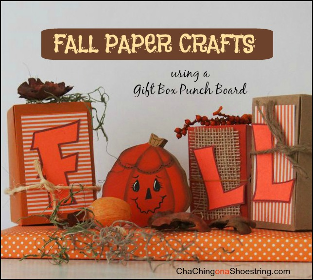 Fall Paper Crafts