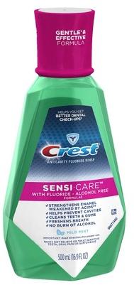 CVS: Crest Sensi Care Rinse fo...