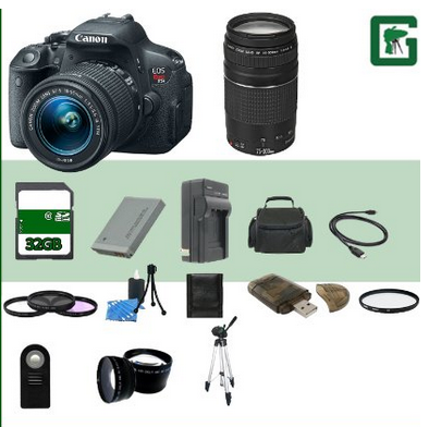 Canon EOS Rebel T5i Cyber Monday Deal
