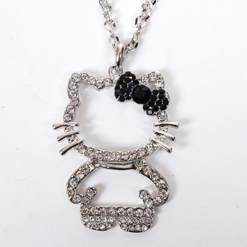 Hello Kitty Figure Pendant Nec...