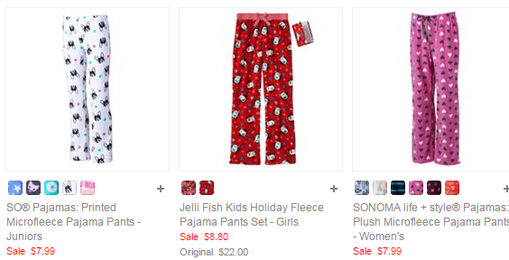 Kohl's Girls' Pajamas Cyber Monday deal