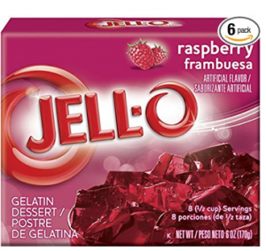 Amazon: Jell-O Raspberry Gelat...