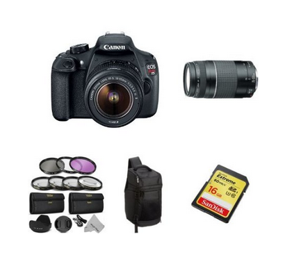 Best Cyber Monday Deal on a Canon Rebel T3i