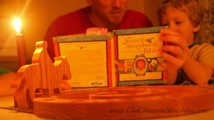 How to use the Jesus Storybook Bible on Advent