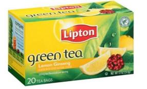 Target: Lipton Green Tea Bags.
