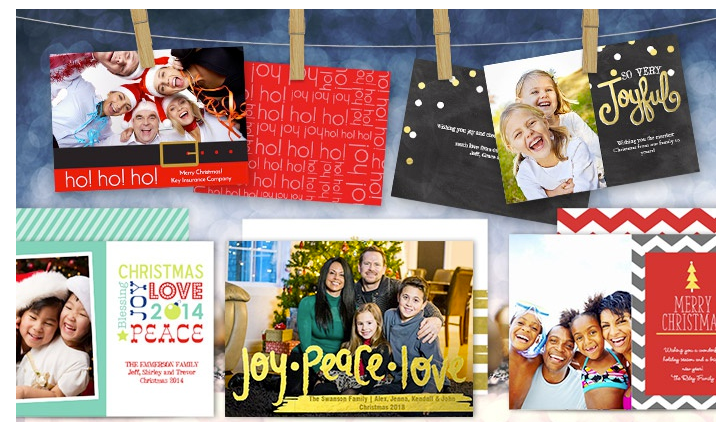 Christmas Card Deal at Staples