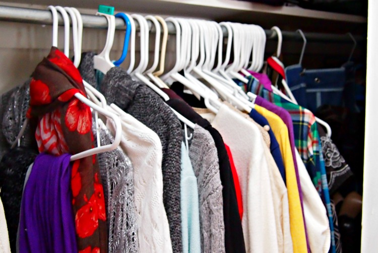 Closet Organization in One Hour