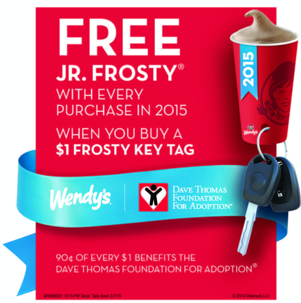 Wendy's: Get a Frosty Key Ta...