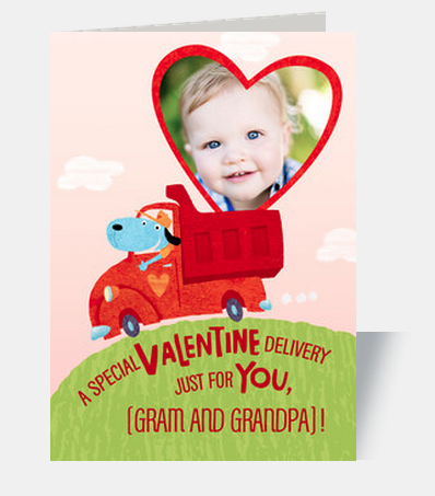 Personalized Valentine's Day Cards Online Deal 2015