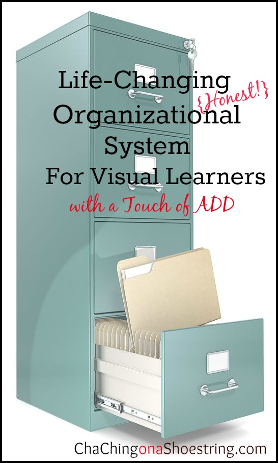 Visual Learner Organization Files