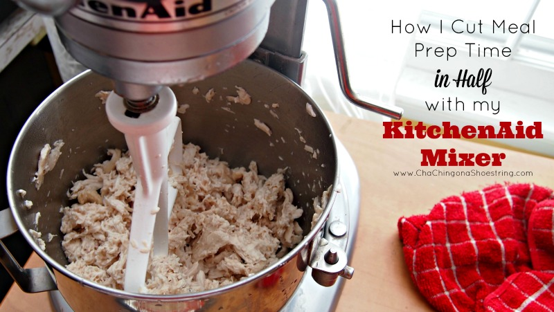 How to Cut Meal Prep Time in Half with KitchenAid Mixer