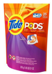 Target: Tide Pods (35 ct) for.