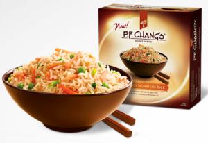 FREE P.F. Chang's Home Menu.