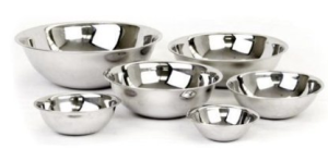 Stainless Steel Set of 6 Mixin...