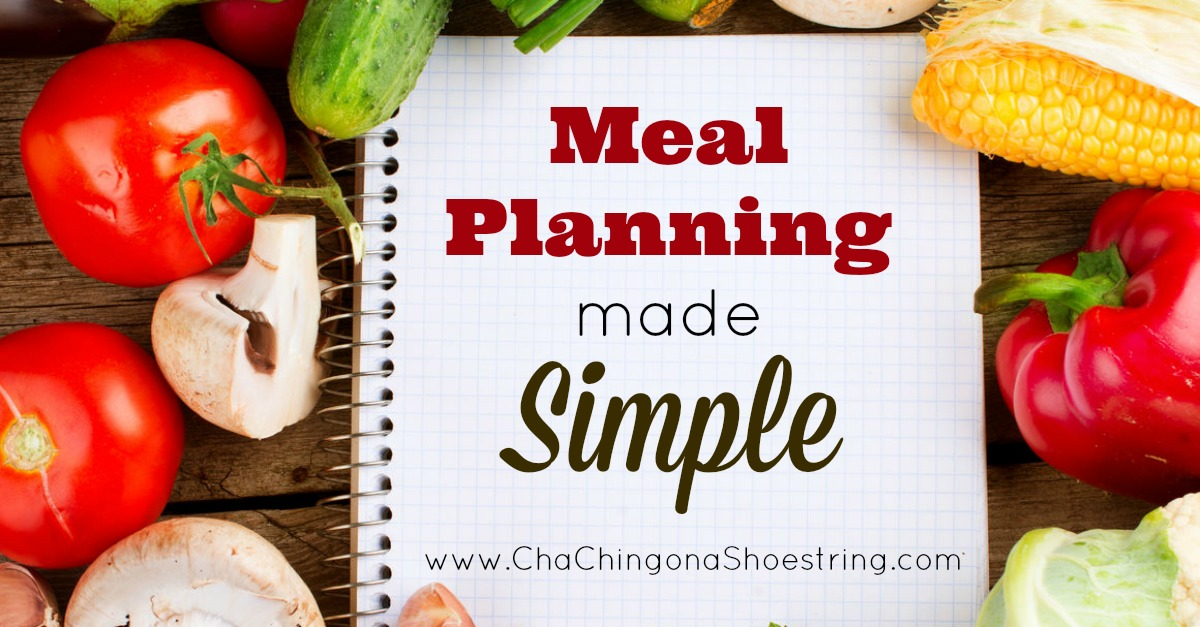 Simple Meal Planning 2
