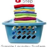 My 3 Step Simple Laundry System