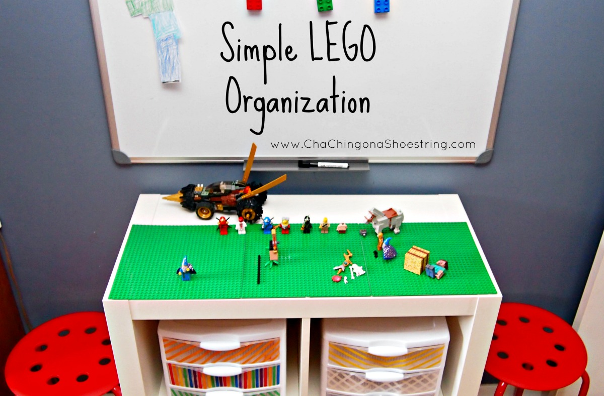 Simple LEGO Organization