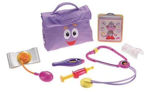 Dora the Explorer Check-Up Kit...